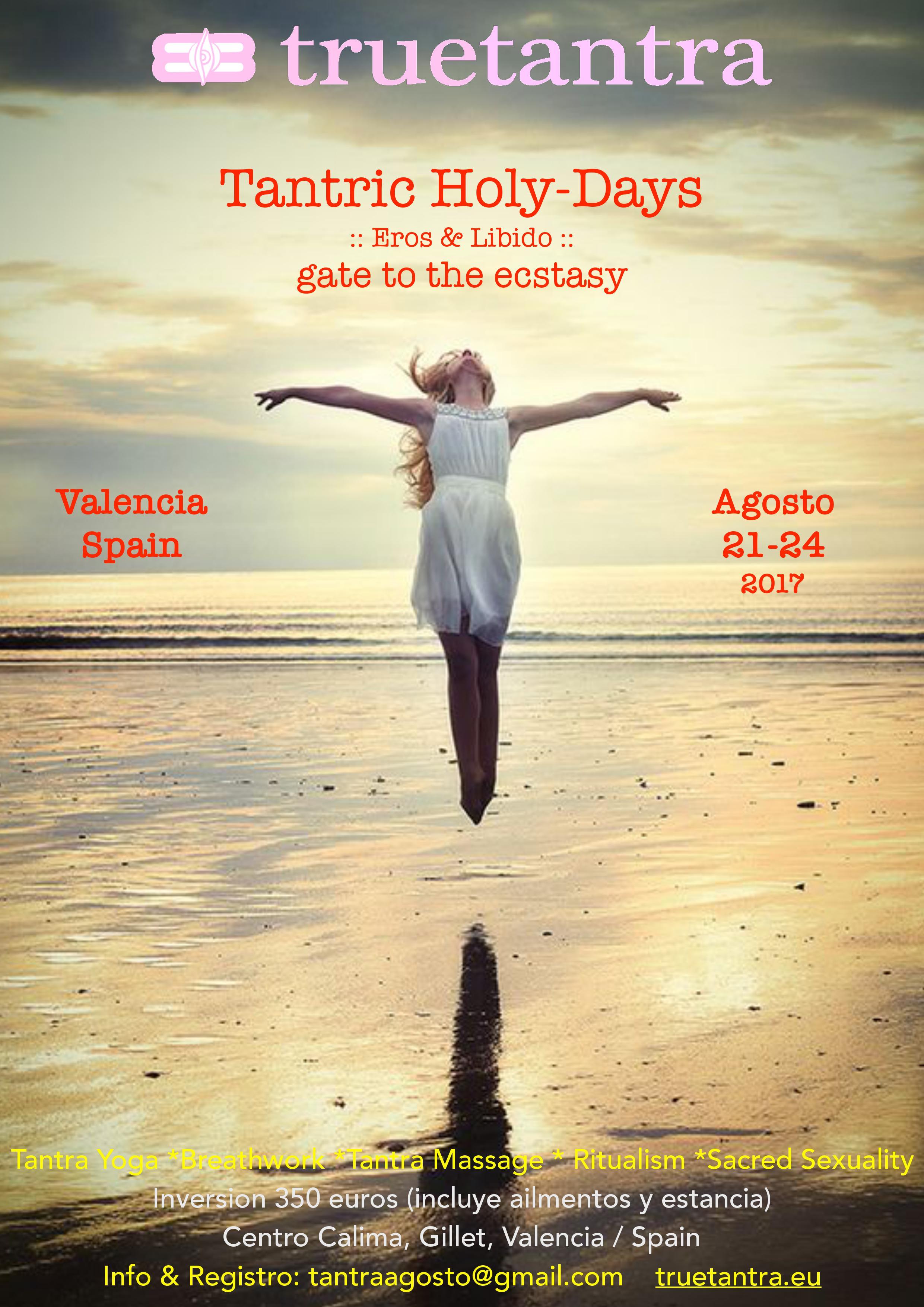 Tantra Holy-Days :: una puerta al extasis :: Gillet, Valencia · Retiro